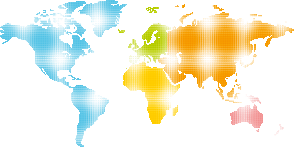 Geographic distribution of Editors