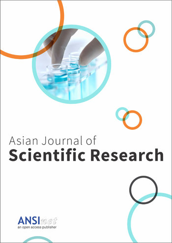 Asian Journal of Scientific Research